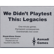 We Didn't Playtest This