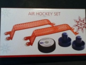 Air Hockey Set, Includes 2 Paddles, 2 Goal Posts, and 1 Puck