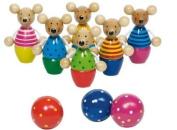 GoKi Wooden Speedy Skittle Mice