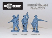 Bolt Action 28mm Commando Characters
