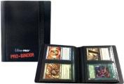 Ultra Pro 2 Pocket Pro Binder Black - 20 Pages & 80 Cards
