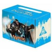 Card Storage Deck Box - (80ct) Ultra Pro SL Magic MTG Return To Ravnica - Azorius Prahv Guildmage Artwork #86015