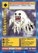 Digimon - Bakemon - St-45