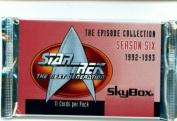 Star Trek The Next Generation Season 6 Trading Card Pack