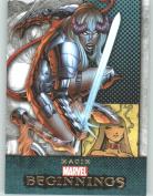 Marvel Beginnings #234 Magik (Non-Sport Comic Trading Cards)
