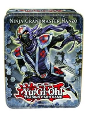 1x Ninja Grandmaster Hanzo - Collector Tin - 24655 - Yu-Gi-Oh