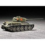 Trumpeter 1/72 Soviet T34/85 Mod 1944 Tank