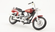 Harley Davidson FXDL Dyna Low Rider, met.-red, Model Car, Ready-made, Maisto 1:18