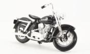 Harley Davidson K Model, black, 1952, Model Car, Ready-made, Maisto 1:18