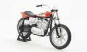 Harley Davidson XR750, orange/black, 1972, Model Car, Ready-made, Maisto 1:18