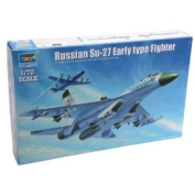 Trumpeter Su-27 Sukhoi Early Type Russian Fighter Aeroplane Model Kit, Scale 1/72