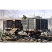 Trumpeter 1/35 WWII German Army Gondola High Sides Rail Car