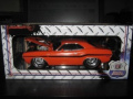 """1970 Dodge Challenger R/T Orange """"Ground Pounders"""" 1/18 Limited to 300pc Worldwide by M2 Machines 91165S01OR"""