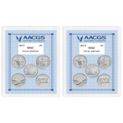 American Coin Treasures Brilliant Uncirculated Statehood Quarters