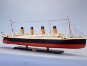 RMS Titanic 130cm Limited - Wood Cruise Ship - Museum Quality Cruise Ship - White Star Lines - RMS Titanic Cruise Ship Replica - Nautical Decoration - Passenger Liner - Brand New - Sold Fully Assembled - Not a Model Ship Kit