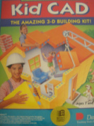 Davidson's Kid Cad. the Amazing 3-D Building Kit! - Learning Software/Microsoft Window's Compatible