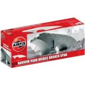 Airfix A75012 Narrow Road Bridge - Broken Span 1:76 Scale Unpainted Resin Building