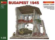 Miniart 1:35 - Budapest 1945 (SU-76, Building & Figures) Diorama - MIN36007