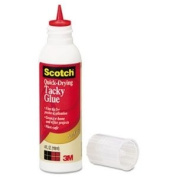 Quick-Drying Tacky Glue, 120ml, Precision Tip