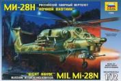 ZVEZDA Soviet Helicopter Mil Mi28n 1:72 - Model Kit Z7255