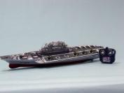 Challenger RC Aircraft Carrier Model 80cm  - RC Battleship - Model Ship Wood Replica - Not a Model Kit