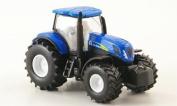 New Holland 7070, blue, tractor, Model Car, Ready-made, Siku 1:87
