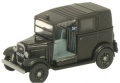 Oxford Diecast Austin Taxi (Black) - 1/76 OO Scale Diecast Model
