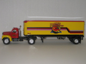 1960 B-61 Mack Tractor and Trailer with Nostalgic Toy Creations Logo, 1/34th Scale
