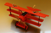 "Hallmark Legends In Flight Numbered Edition Fokker Dr.I ""Red Baron"" Miniture Aeroplane QHA1005"