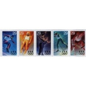 Winter Olympics Sheet of 4 x 29 cents US Postage Stamps Scot #2807-11