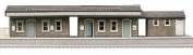 Superquick Island Platform Building - 1/72 OO/HO - Card Model Kit