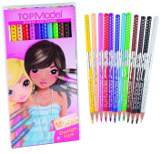 Depesche - Top Model Basic Colours Pencil Set