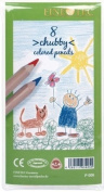 Alvin P006 Chubby Colored Pencils - Set of 8