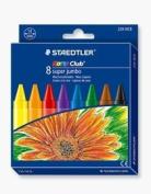 Staedtler Noris 8 Super Jumbo Highly Break Resistant Wax Crayons