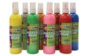 Chenille Kraft 240ml Metallic Washable Glitter Glue, 8 Colours