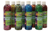Glitter Glue Chip Class Pack, Assorted Colours, 240ml Bottles, 8/Pack