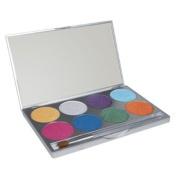 Mehron Paradise Brilliant Metallic Face Paint Palettes
