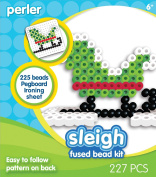 Perler Beads Fused Bead Kit - Sleigh