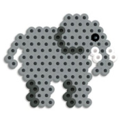 Perler Beads Silicone Pegboard Fused Bead Kit - Elephant