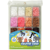 Perler Fused Bead Tray 4000/Pkg-Neutral Colour