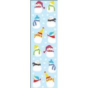 Mrs. Grossman's Stickers-Tiny Snowmen
