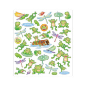 Multi-Coloured Stickers-Leap Frogs 129916 Notions - In Network