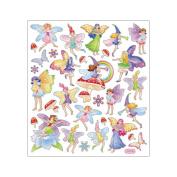 Multi-Coloured Stickers-Fairy Fantasy