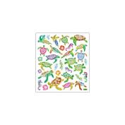Multi-Coloured Stickers-Sea Turtles