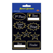 Beistle 54041 Party Stickers Award Stickers