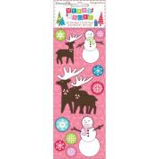 Merry Magic 3D Stickers-Reindeer