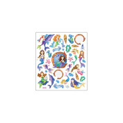 Multi-Coloured Stickers-Mystical Mermaids 129902 Notions - In Network