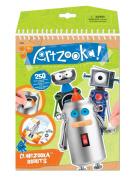 Artzooka Clingzooka, Robots