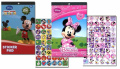 Disney Mickey Mouse Sticker Pad and Minnie Mouse Sticker Pad Set