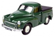 Morris Minor Pick Up Green With Tonneau Cover